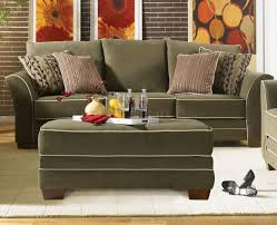Transitional Living Room Furniture Transitional Fabric Living Room U202 Opulence Moss