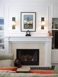 Framed Tv Above Fireplace Articles With Living Room Fireplace Tv Tag Livingroom Fireplace