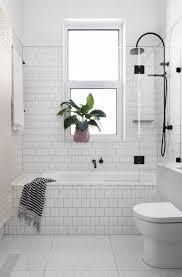 Strikingly Inpiration White Tiled Bathroom Ideas Best 25 Tile Bathrooms On  Pinterest Modern Black And