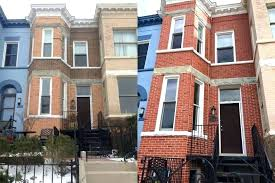 brick staining diy staining exterior brick professional brick staining made this townhouse look like it was brick staining diy