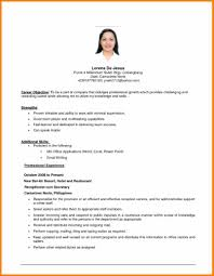 example resume objectiveresume template writing objective how to write an for ajpg how to write objectives for resume