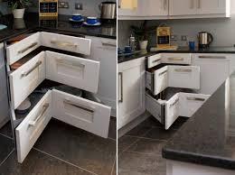 Kitchen Cupboard Interior Design 10 Corner Cabinet Ideas That Optimize Your Kitchen Space