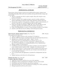 Resume Information Technology Resume Template