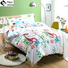 kids twin size bedding kids twin quilt bed sheets bedding set cotton duvet cover pillowcase giraffe pattern cartoon size bedrooms kids twin