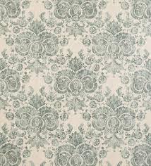 Blauw Groene Vintage Wallpaper Patroonstaal Stockfoto Stock