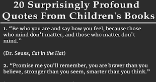 Quotes From Children's Books Interesting 48 Surprisingly Profound Quotes From Children's Books Words