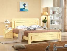 Modern Wood Bed New Pine Wood Bed Marriage Bed Minimalist Modern Wood  Furniture Beds Modern Reclaimed Wood Bedroom Set