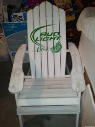 bud light leather football chair design ideas