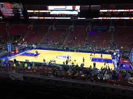 Sixers Game Seating Chart Breakdown Of The Wells Fargo Center Seating Chart