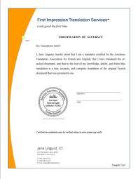 Certificate Translation Certificates Templates Free