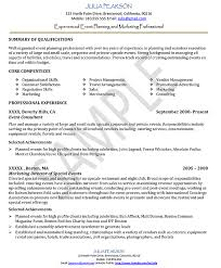 Captivating Event Planning Skills Resume 85 On Resume For Customer Service  with Event Planning Skills Resume