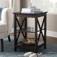 Cement side table Wooden Stool Quickview Wayfair Cement Side Table Wayfair