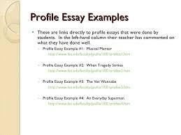 Profile Essay Topics Magdalene Project Org