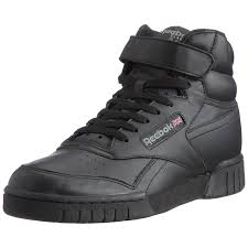 reebok high tops. reebok ex o fit hi, men\u0027s high rise hiking shoes: amazon.co.uk: shoes \u0026 bags tops e