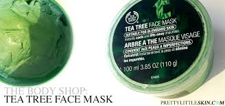 green tree face mask