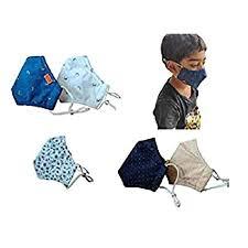"El Regalo <b>Kids</b> Adjustable Cotton Face <b>Masks</b> |""<b>4 Layer</b> Filtration ..."