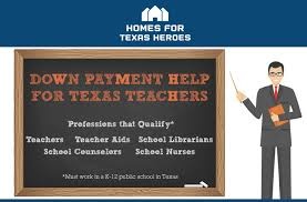 Teachers Fund Loan Chart Teacher Home Mortgage Loans Texas Down Payment Assistance