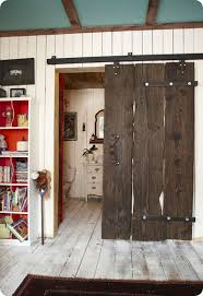 but for our home we needed a more modern or clic styled sliding barn door something more understated we considered the whole diy approach to sliding