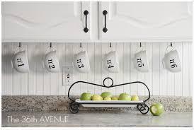 Washi Tape Kitchen Cabinets Washi Tape Window Treatment The 36th Avenue