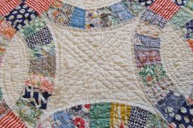 Double wedding ring quilt | Tim Latimer - Quilts etc & I ... Adamdwight.com