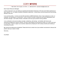 best shift manager cover letter examples livecareer edit