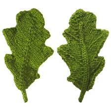 Leaf Knitting Pattern Adorable ODDknit Free Knitting Patterns Oak Leaf