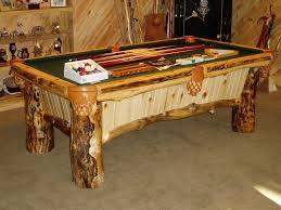custom pool tables. Colorado Log Pool Table At Best Quality Billiards Custom Tables M