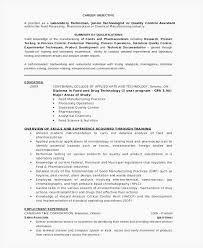Lab Technician Resume Lab Technician Resume Format Lab Technician Cv