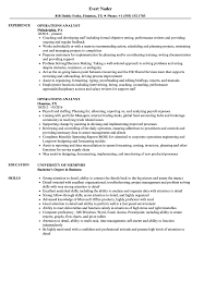 Operations Resume Operations Analyst Resume Samples Velvet Jobs 16