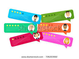 review stock images royalty images vectors shutterstock review rating bubble speeches vector modern style cartoon character illustration avatar icon design concept