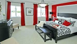 Elegant Red And White Bedroom Or Red And White Room Colour Full Size ...