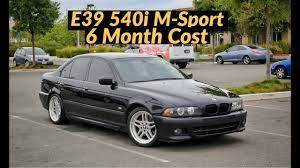 2003 Bmw E39 540i M Sport 6 Month Cost Of Ownership Youtube