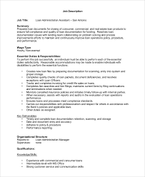 Smartness Commercial Loan Officer Jobs Sample Job Description 8