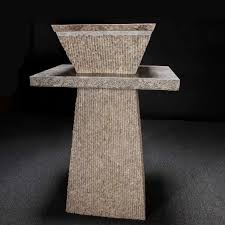 Marble pedestal sink White Carrara Custom Marble Pedestal Sink Aquant Custom Marble Pedestal Sink Decora Loft