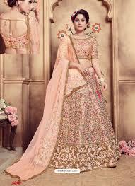 Light Pink Indian Wedding Dress Indian Ethnic Wear Online Store
