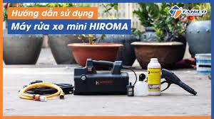 Máy rửa xe mini Hiroma DHL - 1707 - Công Ty Tearu Việt Nam