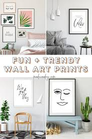 trendy printable wall art for bedroom