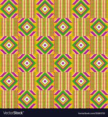 Kente Pattern