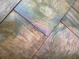 removing algae from stone paving