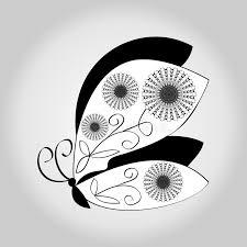 Negro blanco dibujo animales mujer 1.764 imágenes gratis de blanco y negro. Dibujo Blanco Y Negro De La Mariposa En Fondo Gris De La Pendiente Ilustracion Del Vector Ilustracion De Blanco Ornamental 71052447