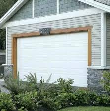 overhead door trim garage door metal overhead