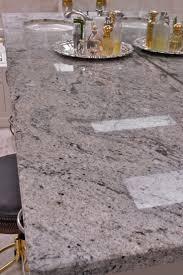 Ice White granite bathroom. Ida Bray Deats, Contractor-Consultant; Manuel  Zapata,