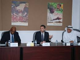 direct aid organization hosted a round table meeting to discuss human needs in african coast countries