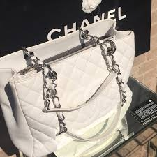 CHANEL - White quilted chanel bag from Leah's closet on Poshmark & White quilted chanel bag Adamdwight.com