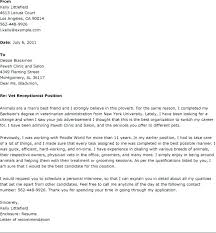 Veterinary Assistant Cover Letter Vet No Experience Job Resume