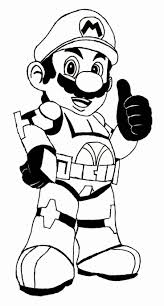 Super Mario Coloring Pages Pictures Get Coloring Page