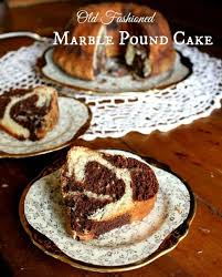 Old Fashioned Marble Pound Cake Recipe