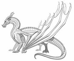 Free printable dragon coloring page. Dragon Coloring Pages Printable Dragon Coloring Page Monster Coloring Pages Wings Of Fire Dragons