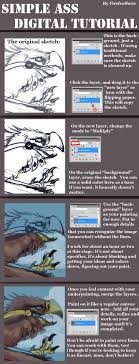 simple ass digital painting tutorial by alradeck