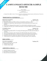 Police Officer Resume Template Amazing Sample Police Officer Resume Police Officer Resume Samples Free